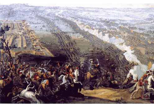 Битка на Полтави (1709) године. Дени Мартен Млађи, 1726.