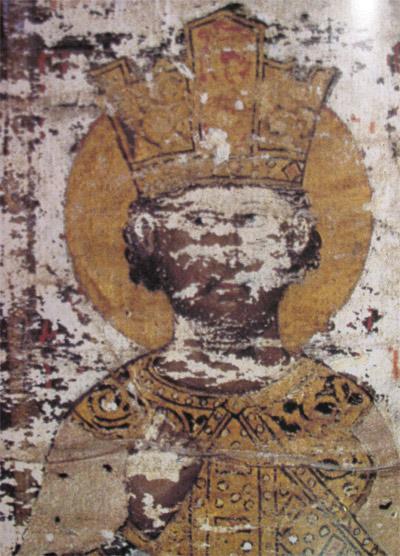 Ђурађ Бранковић на Есфигменској повељи 1429. године