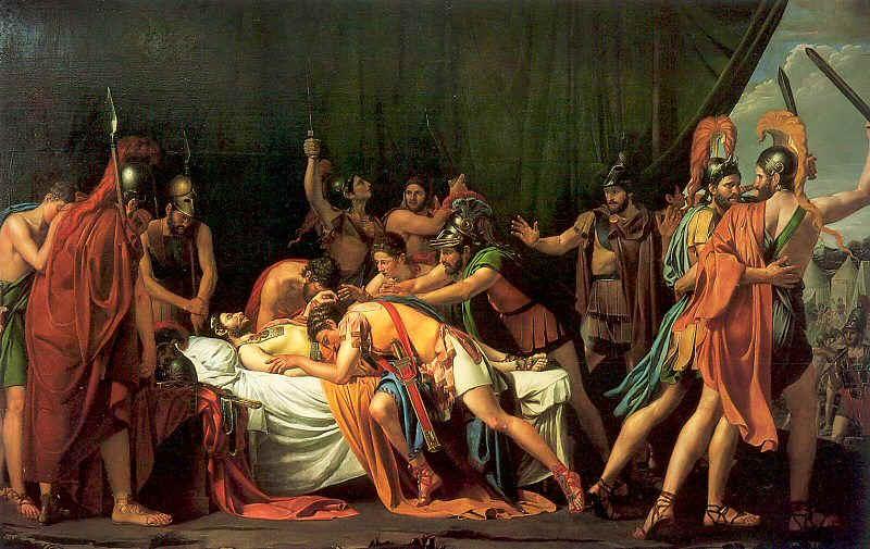 Хосе Мадразо, Виријатова смрт, уље на платну, 1806/07. година.