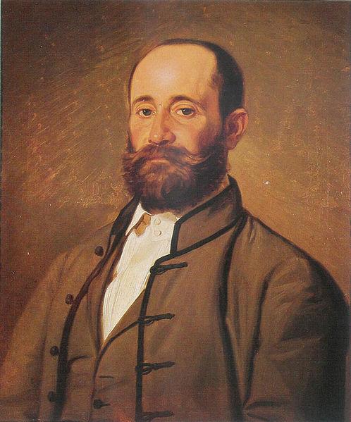 **Новак Радонић** (1826—1890), //Портрет Јакова Игњатовића//.