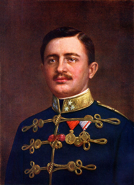 **Престолонаследник Карл Франц Јозеф од Аустрије** (1887—1922), будући цар Карл I (1916—1918), слика из 1915. године
