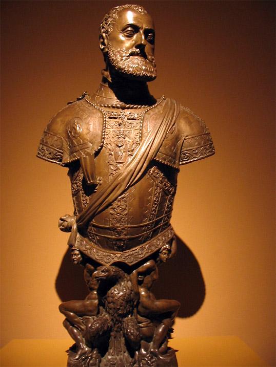 Попрсје Карла V које се налази у музеју Прадо у Мадрид