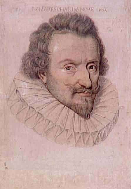 Портрет Кончина Кончинија. Данијел Димонстје (1574—1646). Лувр, Париз.