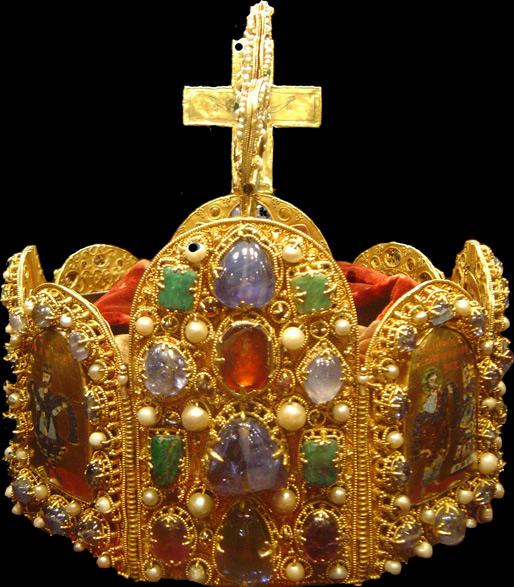 Круна цара Светог римског царства. Данас се налази у Бечу