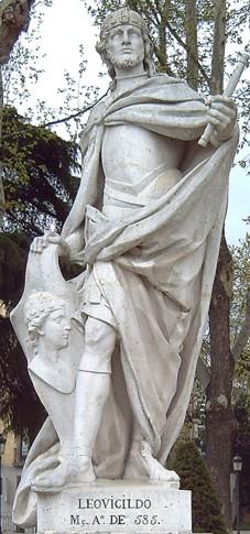 Споменик Леовигилду са трга Плаза дел Оријенте, Мадрид.