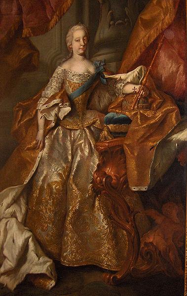 **Портрет Марије Терезије као краљице Угарске**, рад Мартина ван Мејтенса (Martin van Meytens), уље на платну из 1741. године, налази се у опатији Мелк у Аустрији.