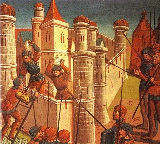 Пад Цариграда 1453. године, насликано крајем 15. века.