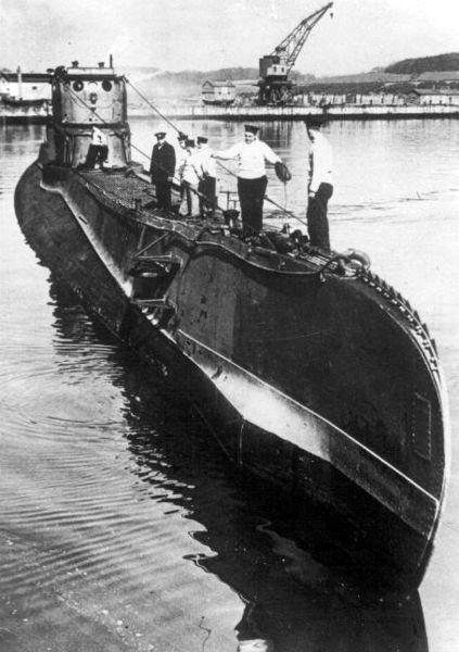 **Орзел**, пољска подморница недуго по приспећу у Уједињено краљевство, 1939. године.