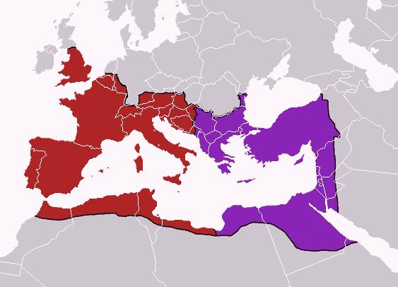 Zapadno rimsko carstvo Rimsko-carstvo