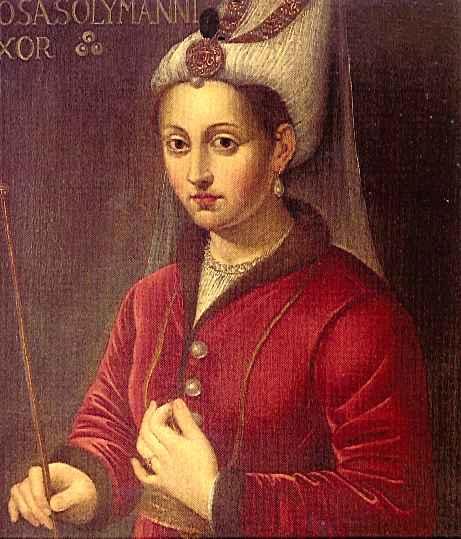 Хурем султанија, уље на платну (16. век)