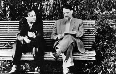 **Андреј Сахаров** (1921—1989) и **Игор Курчатов** (1903—1960), очеви совјетског нуклеарног програма.
