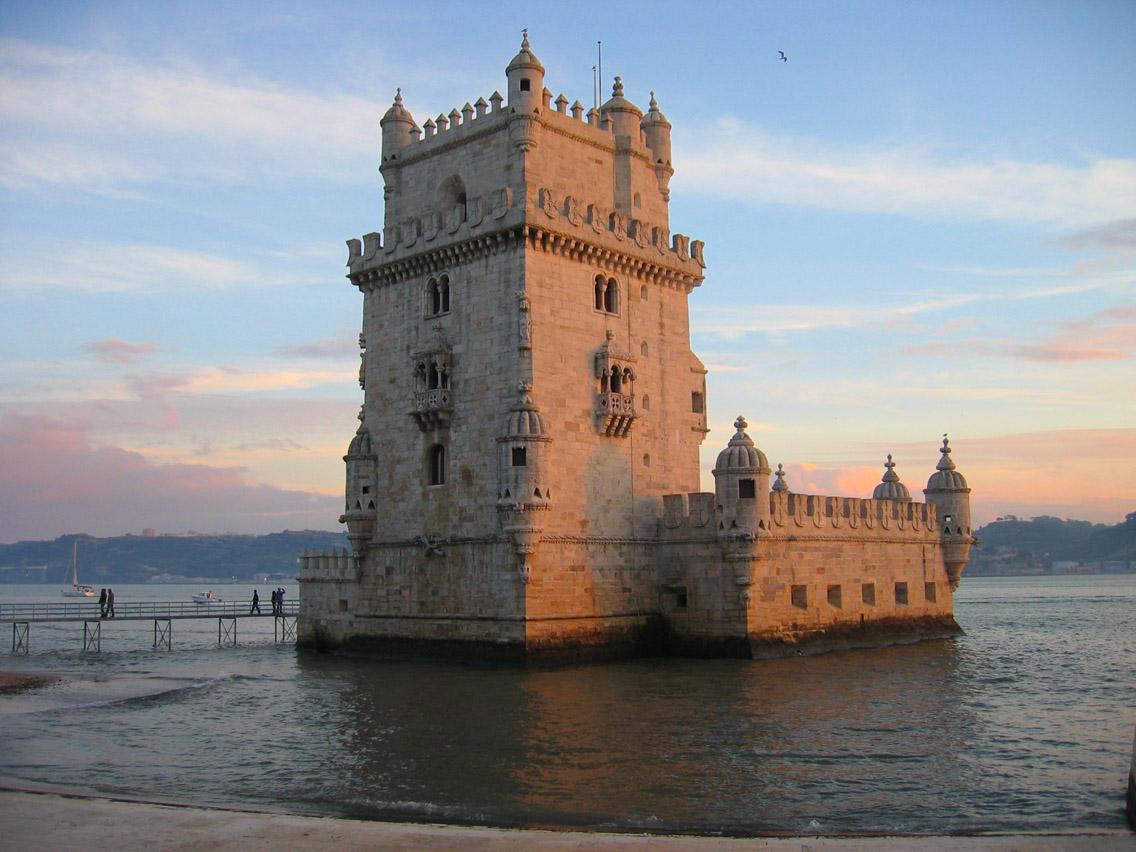 Кула Белем излазу из естуара реке Тахо, последња станица у Европи где су пристајали трговачки бродови који су кретали за португалске америчке колоније