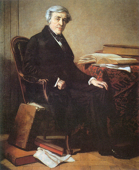 **Тома Кутир** (1815—1879), француски сликар, //Жил Мишле//, Музеј Карнавале у Паризу.